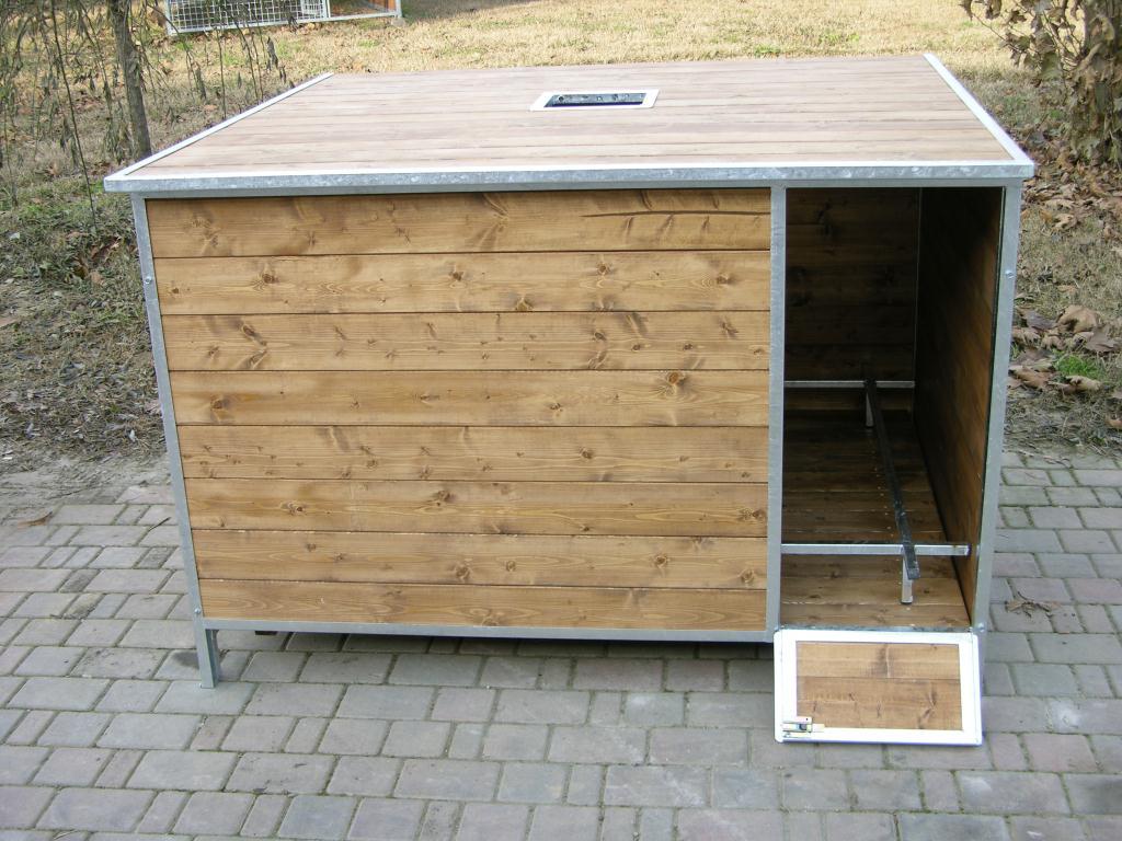 Cuccia legno da parto
