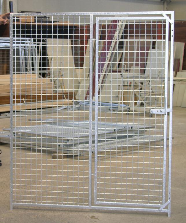 Pannello rete cm.100 x h.200 con porta
