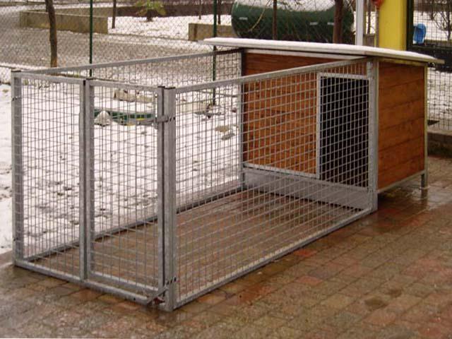 Cuccia legno maxy con recinto box cani vendita online for Costruire recinto per cani